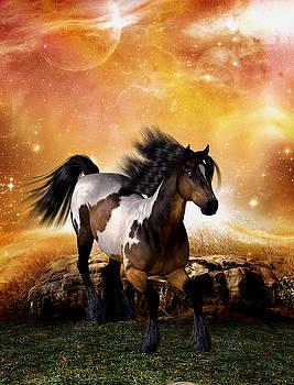The Horse - moonlight run by John Junek
