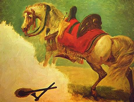 The Horse Of Mustapha Pasha 1810 by Gros AntoineJean