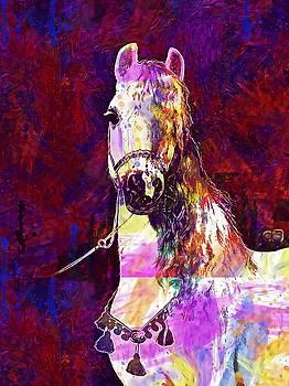The Horse Pony Animal  by PixBreak Art