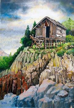 The House Built on the Rock by Bong Perez