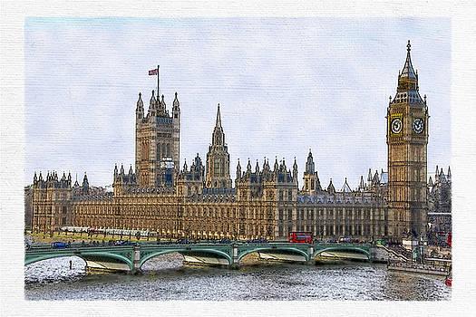 David Pringle - The Houses of Parliament