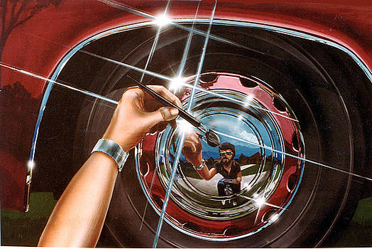 The Hubcap by John DiLauro