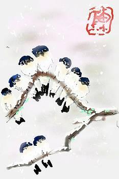 The Huddle by Debbi Saccomanno Chan