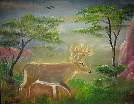 The huge Buck by M Bhatt
