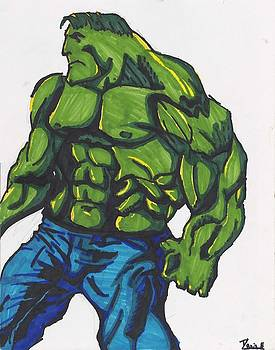 The Hulk by Davis Elliott
