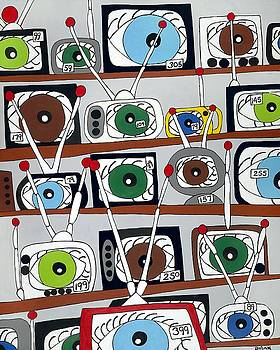 The Hungry Eye by Rojax Art