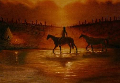 The hunter returns by Gene Gregory