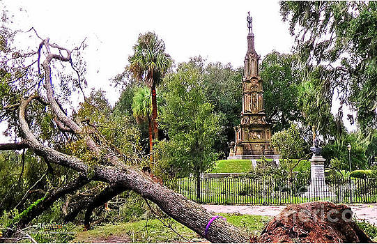 The Hurricane and the Confederate Monuments by Aberjhani