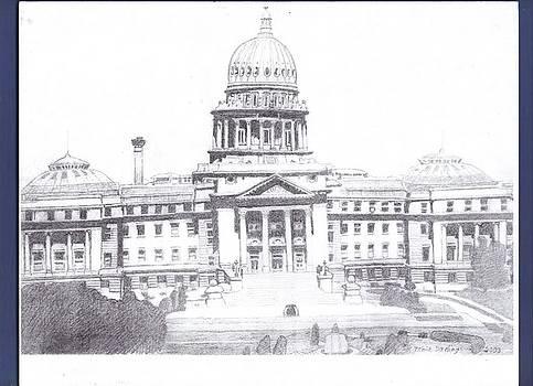 The Idaho Capitol building by Tonia Darling