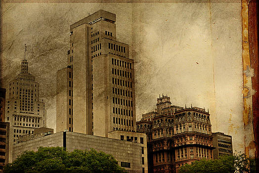 The Imposing Banespa and Martinelli Buildings by Valmir Ribeiro
