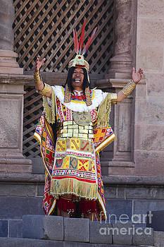 James Brunker - The Inca at Inti Raymi