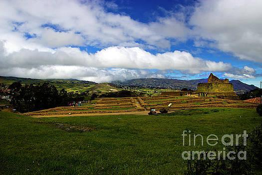The Inca-Canari Ruins At Ingapirca IV by Al Bourassa