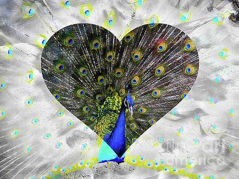 The Inca Peacock by Al Bourassa