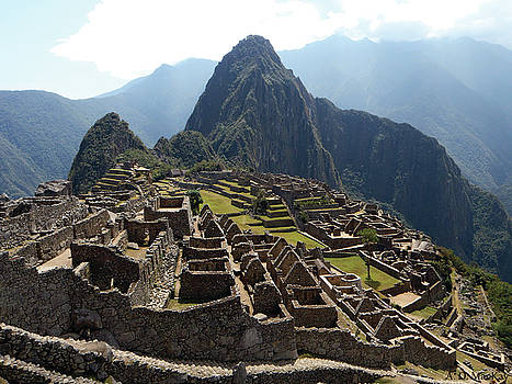 The Inca Ruins of Machu Picchu by Celtic Artist Angela Dawn MacKay