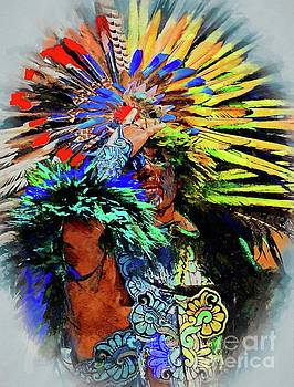 The Indian At Dolores Hidalgo by John Kolenberg