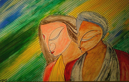 The Indian Couple by Asm Ambia Biplob