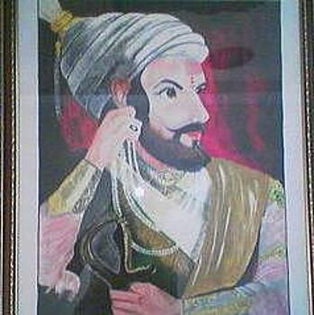 The Indian Warrior Shivaji by Mareen Cherian