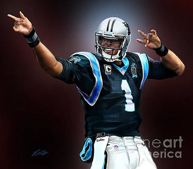 The Inevitable Cam Newton1 by Reggie Duffie