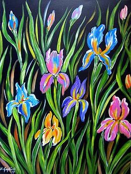 The Irises by Roberto Gagliardi