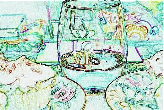 The Irish Philadelphia Love Glass by Jeannie Allerton