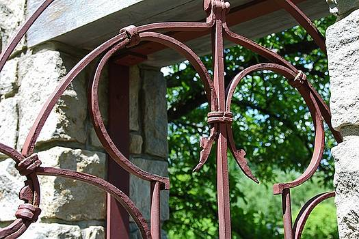 The Iron Gate I by Michiale Schneider