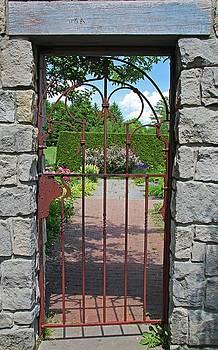 The Iron Gate III by Michiale Schneider