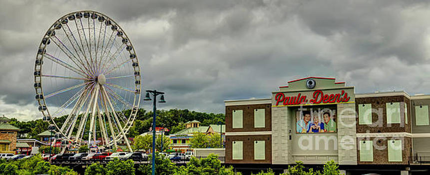 The Island Pigeon Forge TN by Ules Barnwell