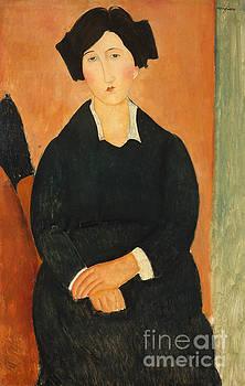 Amedeo Modigliani -  The Italian Woman, 1917