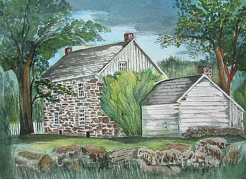 The Jacob Weikert House 1825 by Barbara Murphy