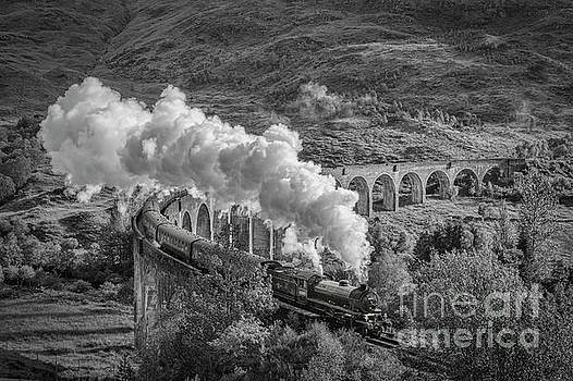 The Jacobite at Glenfinnan by Colin and Linda McKie