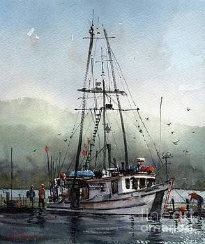 The Janene in Auke Bay by Tim Oliver