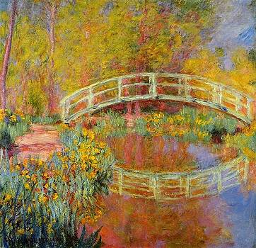 Monet - The Japanese Bridge 1896