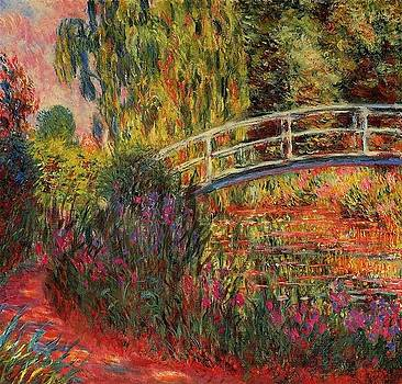 Monet - The Japanese Bridge, The Path