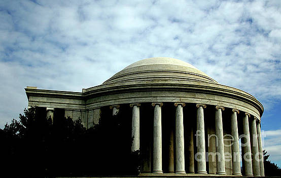 The Jefferson Memorial by April Sims
