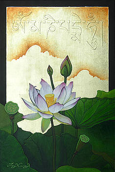 The Jewel Is In the Lotus by Troy Carney