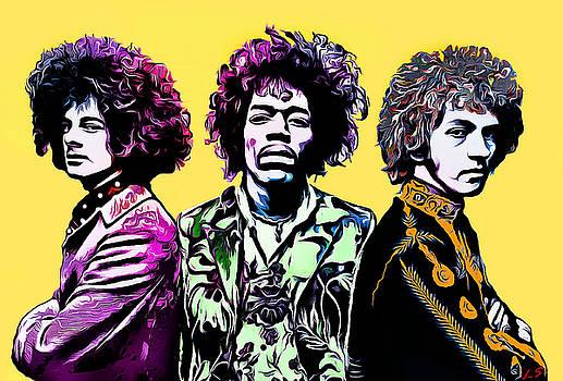 The Jimi Hendrix Experience by Sergey Lukashin