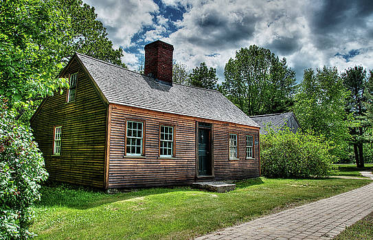 The John Wells House in Wells Maine by Wayne Marshall Chase