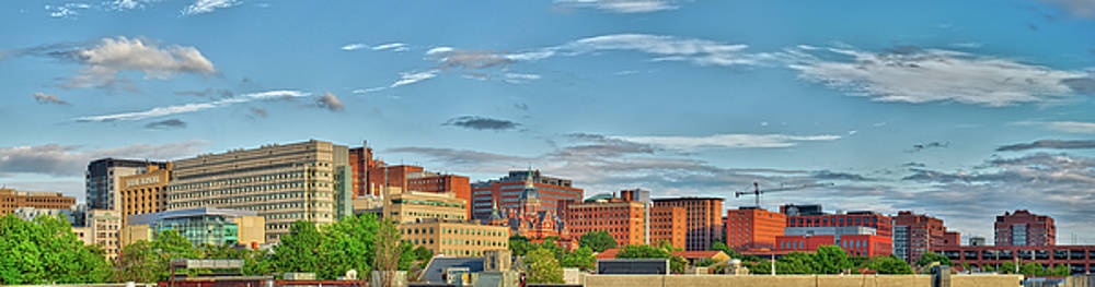 The Johns Hopkins Hospital Complex by Mark Dodd