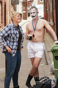 The Joker in boxer shorts by Simon Bratt Photography LRPS