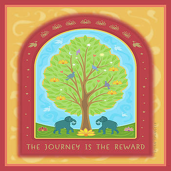 The Journey is the Reward by Susan Spangler