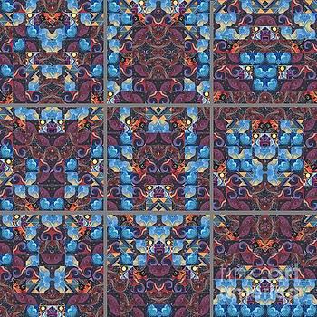 The Joy of Design Mandala Series Puzzle 6 by Helena Tiainen