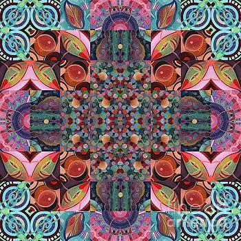 The Joy of Design Mandala Series Puzzle 7 Arrangement 4 by Helena Tiainen