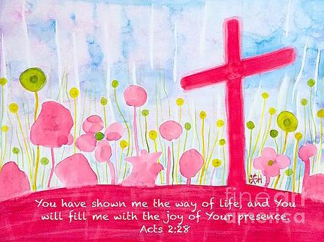 The Joy of Your presence with words by Wonju Hulse