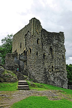 The Keep - Peveril Castle by Rod Johnson