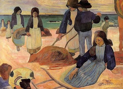 Gauguin - The Kelp Gatherers