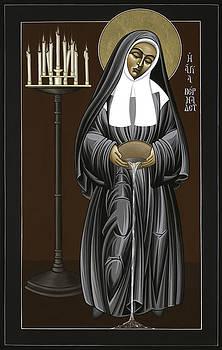 William Hart McNichols - The Kenosis of St Bernadette of Lourdes 063