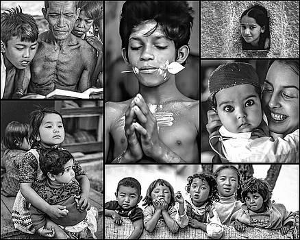 Steve Harrington - The Kids of India Collage 2 bw