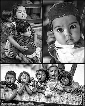 Steve Harrington - The Kids of India Collage bw