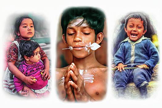 Steve Harrington - The Kids of India Triptych