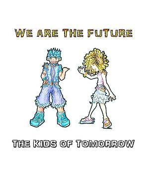The Kids of Tomorrow Toby and Daphne by Shawn Dall